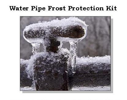 Water Pipe Frost Protection l frozen pipes